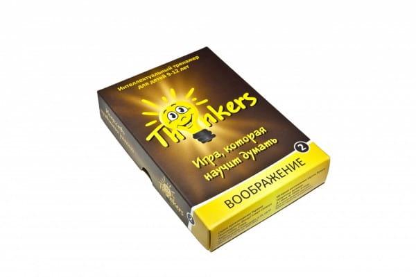 Логическая игра Thinkers 0902 Воображение (9-12 лет)