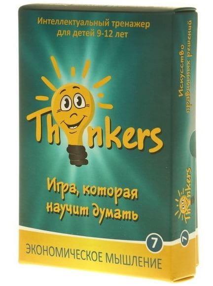 Логическая игра Thinkers 0907 Экономическое мышление (9-12 лет)