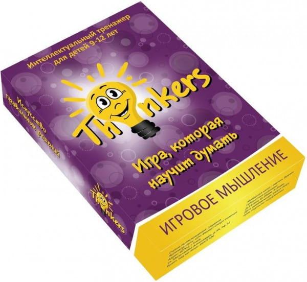 Логическая игра Thinkers 0908 Игровое мышление (9-12 лет)