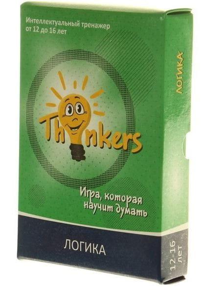 Логическая игра Thinkers 1203 Логика (12-16 лет)
