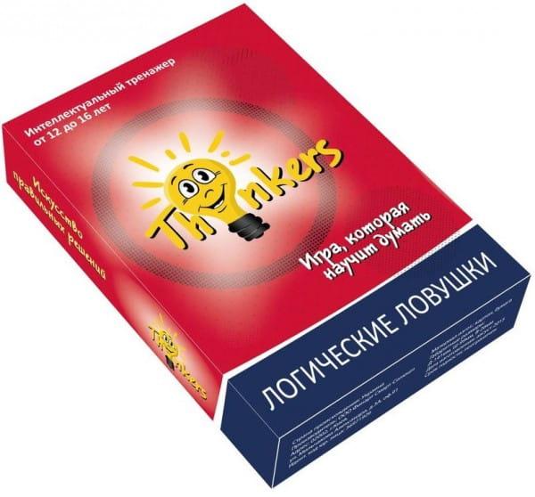 Логическая игра Thinkers 1205 Логические ловушки (12-16 лет)