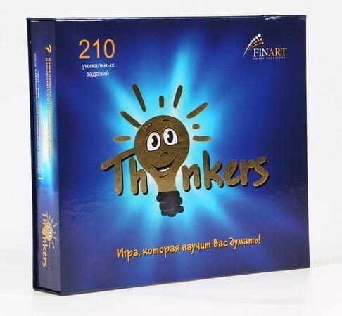 Логическая игра Thinkers 6 в 1 - 210 заданий (с 12 лет)