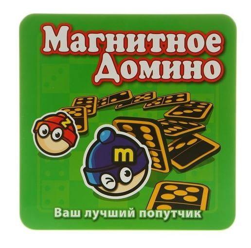 Магнитная настольная игра Mack and Zack Домино