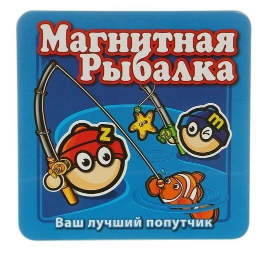 Магнитная настольная игра Mack and Zack Рыбалка
