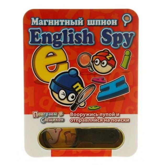Магнитная настольная игра Mack and Zack English Spy