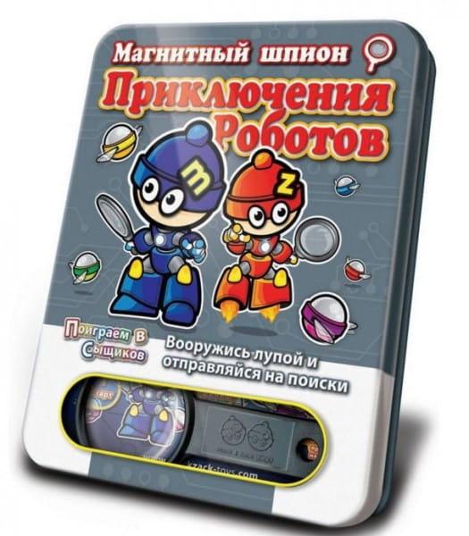 Магнитная настольная игра Mack and Zack Приключения Роботов