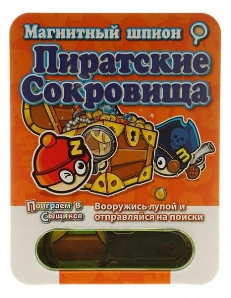 Купить Магнитная настольная игра Mack and Zack Пиратские Сокровища в интернет магазине игрушек и детских товаров