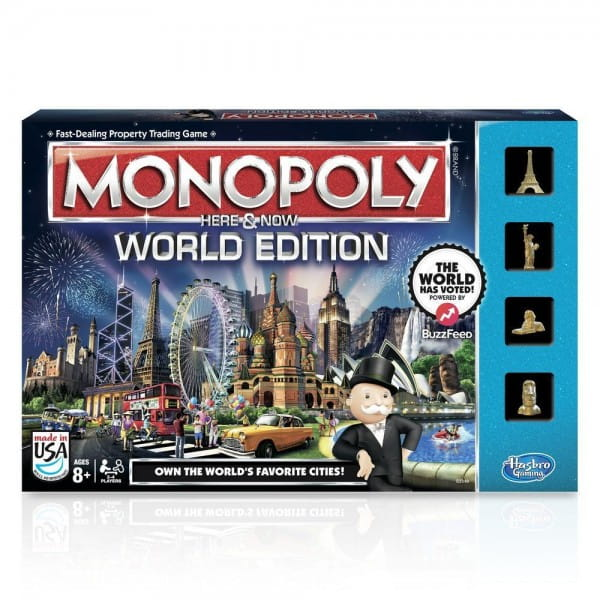 Настольная игра Hasbro Всемирная Монополия