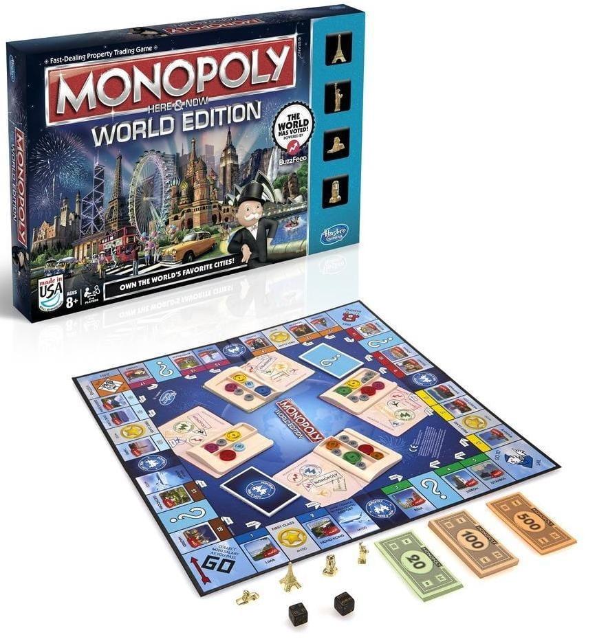 Настольная игра Hasbro B2348 Всемирная Монополия