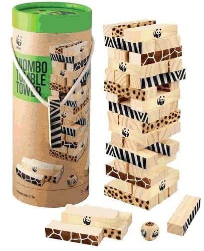 Купить Настольная игра WWF Падающая башня миомбо в интернет магазине игрушек и детских товаров
