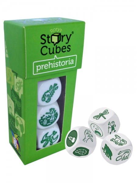 Дополнительный набор Rorys Story Cubes RSC12 Кубики историй Динозавры