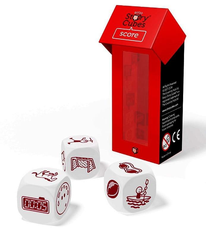 Дополнительный набор Rorys Story Cubes RSC15 Кубики историй Спорт