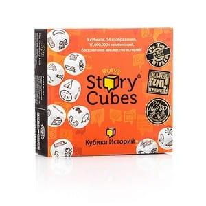 Купить Настольная игра Rorys Story Cubes Кубики историй Original в интернет магазине игрушек и детских товаров