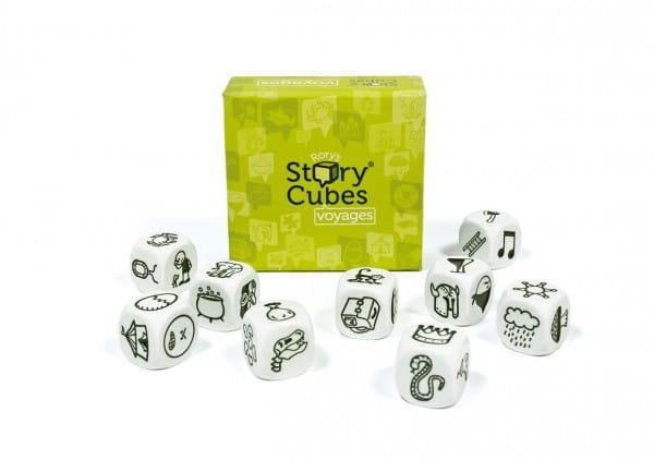 Настольная игра Rorys Story Cubes RSC3 Кубики историй Путешествия