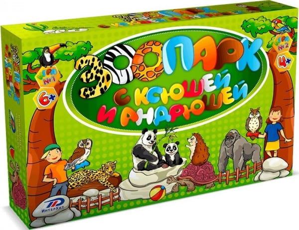 Настольная игра ИнтерХит 37405 Зоопарк