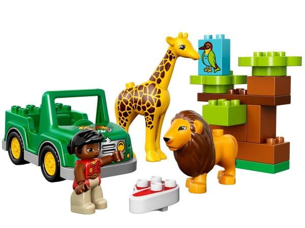 Конструктор Lego Duplo Лего Дупло Вокруг света - Африка