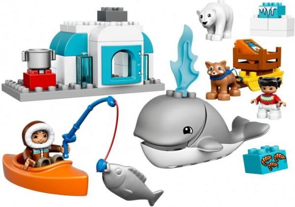 Конструктор Lego 10803 Duplo Лего Дупло Вокруг света - Арктика