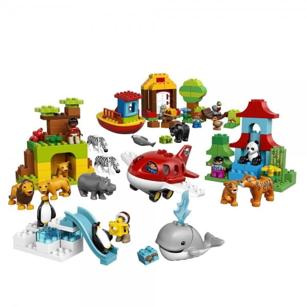 Конструктор Lego Duplo Лего Дупло Вокруг света - В мире животных