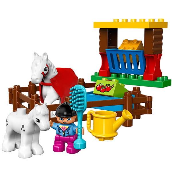 Купить Конструктор Lego Duplo Лего Дупло Лошадки в интернет магазине игрушек и детских товаров