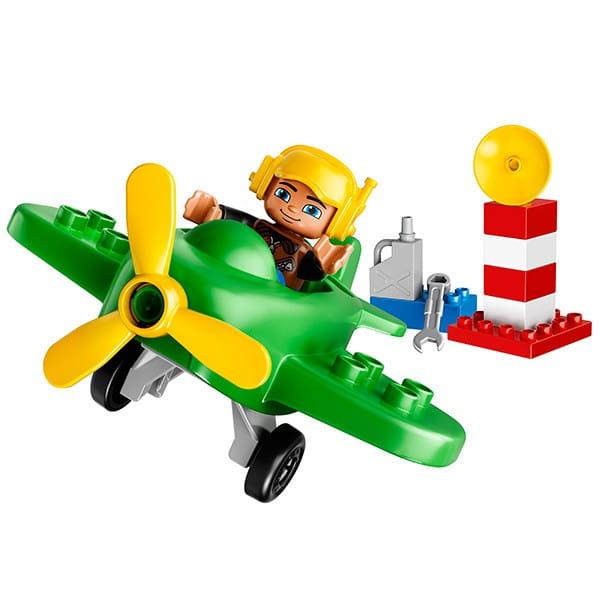 Купить Конструктор Lego Duplo Лего Дупло Маленький самолет в интернет магазине игрушек и детских товаров