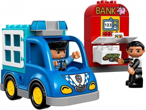 Купить Конструктор Lego Duplo Лего Дупло Полицейский патруль в интернет магазине игрушек и детских товаров