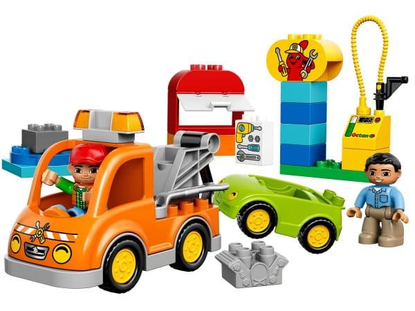 Купить Конструктор Lego Duplo Лего Дупло Буксировщик в интернет магазине игрушек и детских товаров