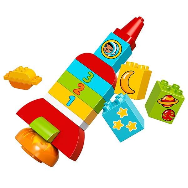 Купить Конструктор Lego Duplo Лего Дупло Моя первая ракета в интернет магазине игрушек и детских товаров