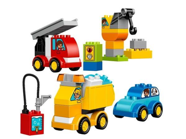 Купить Конструктор Lego Duplo Лего Дупло Мои первые машинки в интернет магазине игрушек и детских товаров