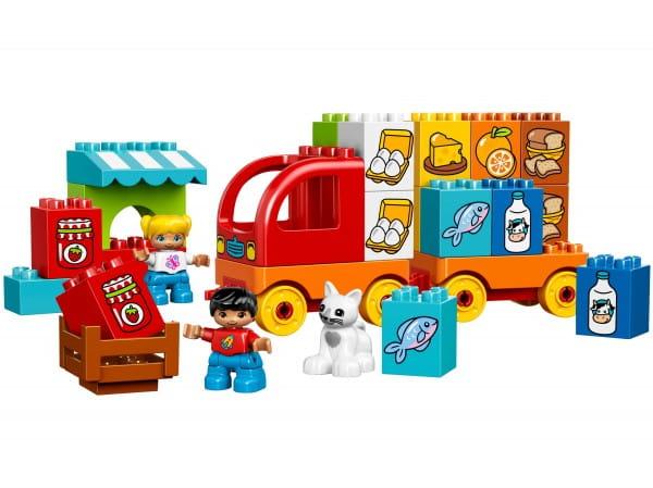 Купить Конструктор Lego Duplo Лего Дупло Мой первый грузовик в интернет магазине игрушек и детских товаров