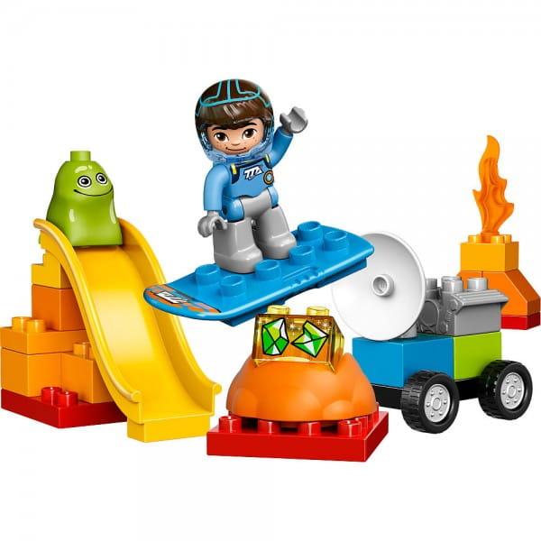 Купить Конструктор Lego Duplo Лего Дупло Космические приключения Майлза в интернет магазине игрушек и детских товаров