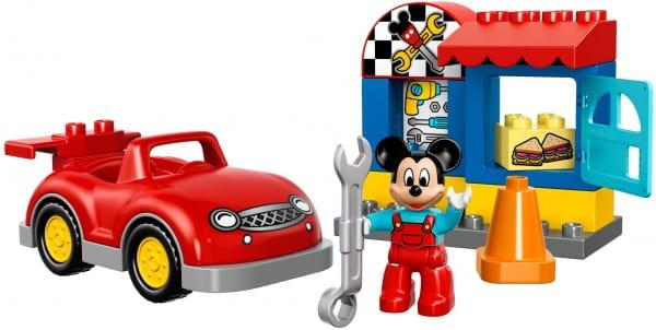 Купить Конструктор Lego Duplo Лего Дупло Мастерская Микки в интернет магазине игрушек и детских товаров