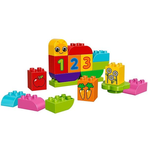 Купить Конструктор Lego Duplo Лего Дупло Моя веселая гусеница в интернет магазине игрушек и детских товаров