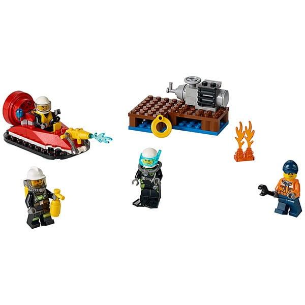 Конструктор Lego 60106 City Лего Город Набор для начинающих - Пожарная охрана