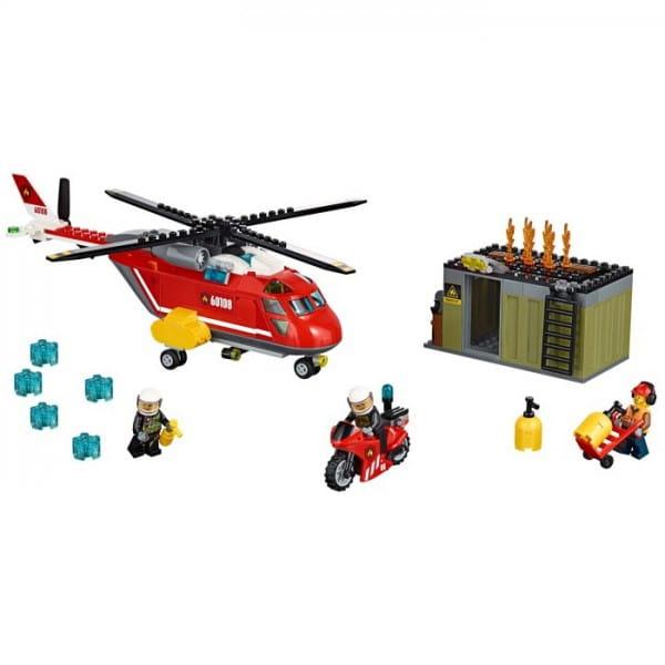 Конструктор Lego City Лего Город Пожарная команда быстрого реагирования