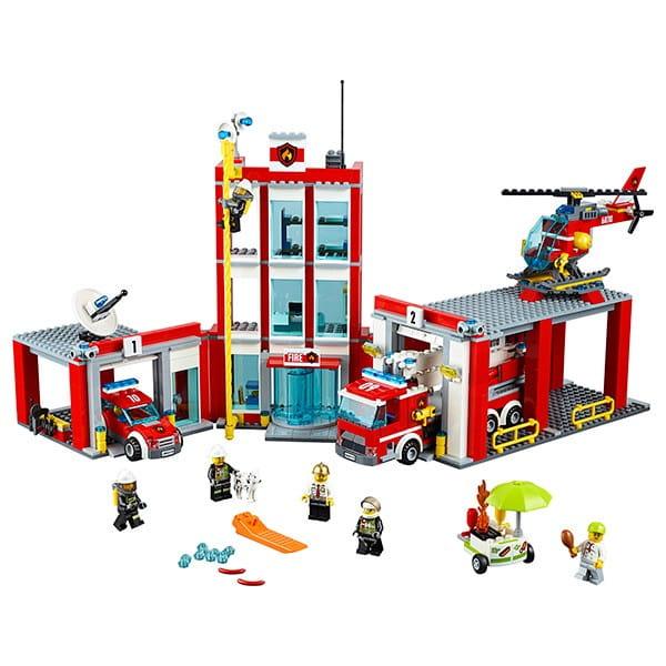 Конструктор Lego City Лего Город Пожарная часть 2