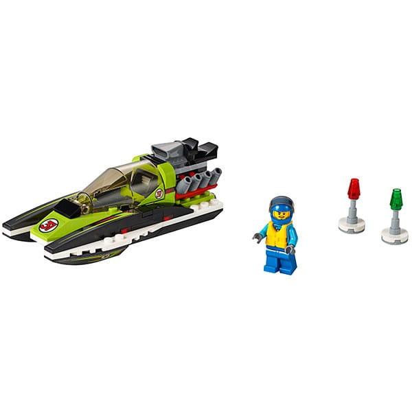 Конструктор Lego City Лего Город Гоночный катер