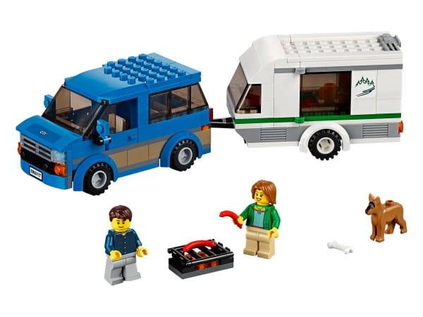 Конструктор Lego City Лего Город Фургон и дом на колесах