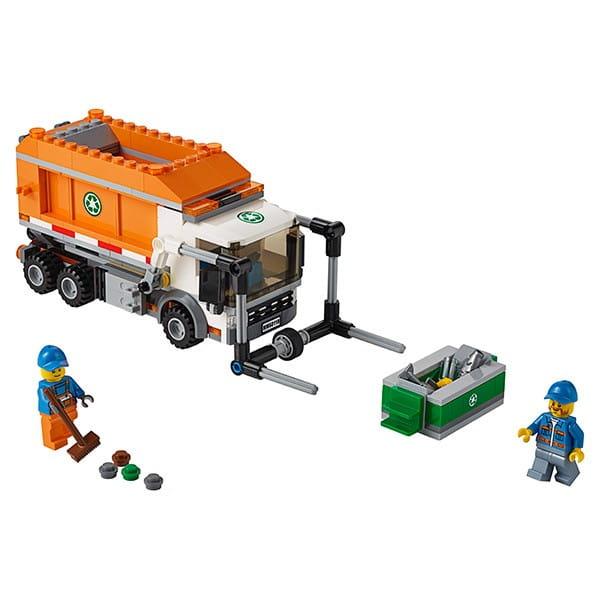 Купить Конструктор Lego City Лего Город Мусоровоз в интернет магазине игрушек и детских товаров