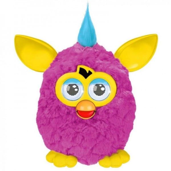 Купить Интерактивная игрушка Furby (Ферби) с хохолком розовый (Hasbro) в интернет магазине игрушек и детских товаров