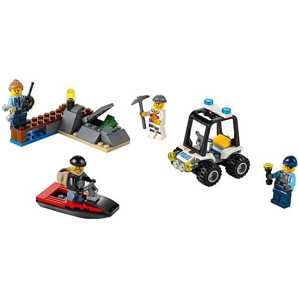 Конструктор Lego City Лего Город Набор для начинающих - Остров-тюрьма