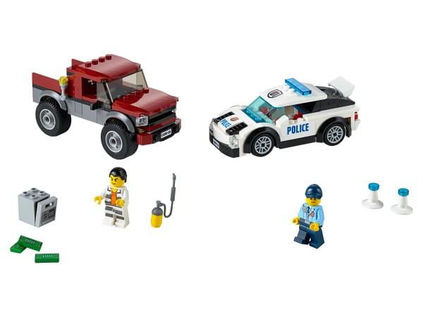 Купить Конструктор Lego City Лего Город Полицейская погоня в интернет магазине игрушек и детских товаров