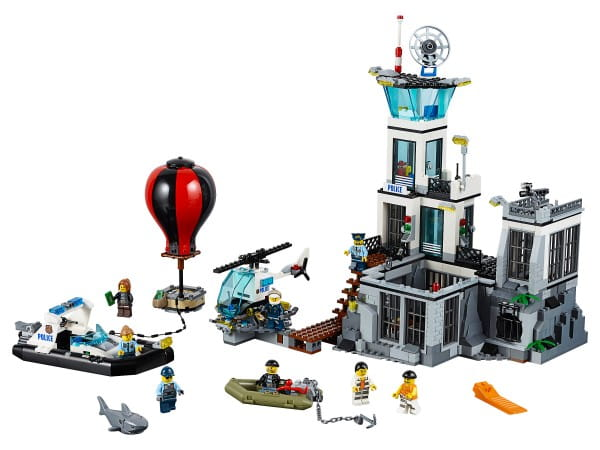 Купить Конструктор Lego City Лего Город Остров-тюрьма в интернет магазине игрушек и детских товаров