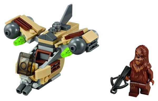 Конструктор Lego Star Wars Лего Звездные войны Боевой корабль Вуки 2