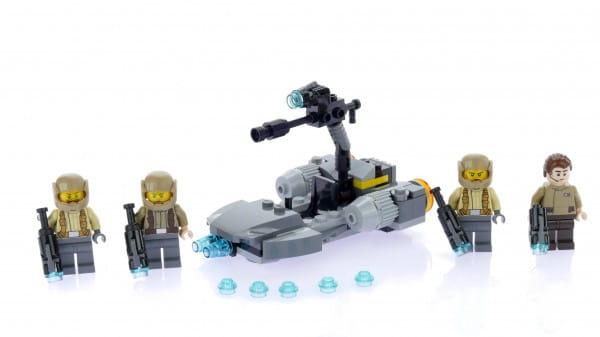 Конструктор Lego Star Wars Лего Звездные войны Боевой набор Сопротивления