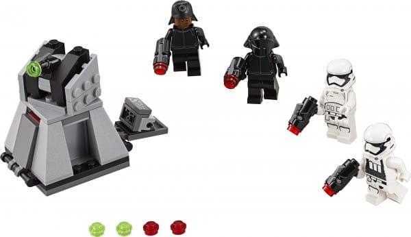 Конструктор Lego Star Wars Лего Звездные войны Боевой набор Первого Ордена