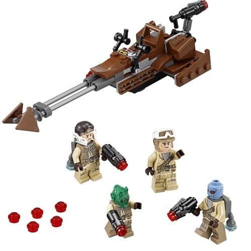 Конструктор Lego Star Wars Лего Звездные войны Боевой набор Повстанцев