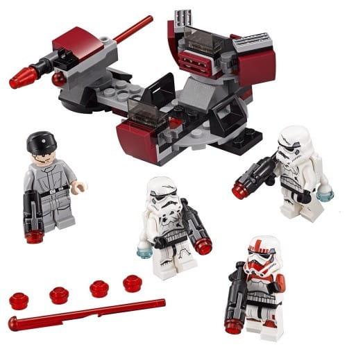 Конструктор Lego Star Wars Лего Звездные войны Боевой набор Галактической Империи