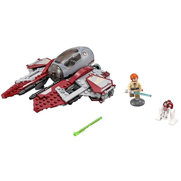 Конструктор Lego Star Wars Лего Звездные войны Перехватчик джедаев Оби-Вана Кеноби