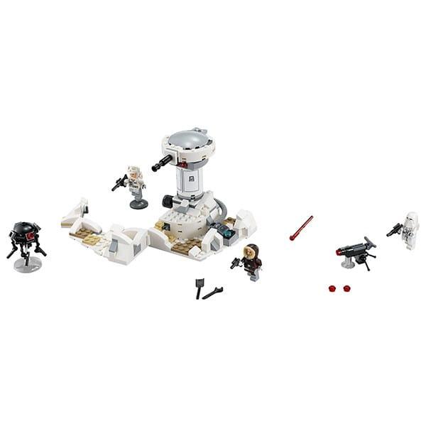 Купить Конструктор Lego Star Wars Лего Звездные войны Нападение на Хот в интернет магазине игрушек и детских товаров