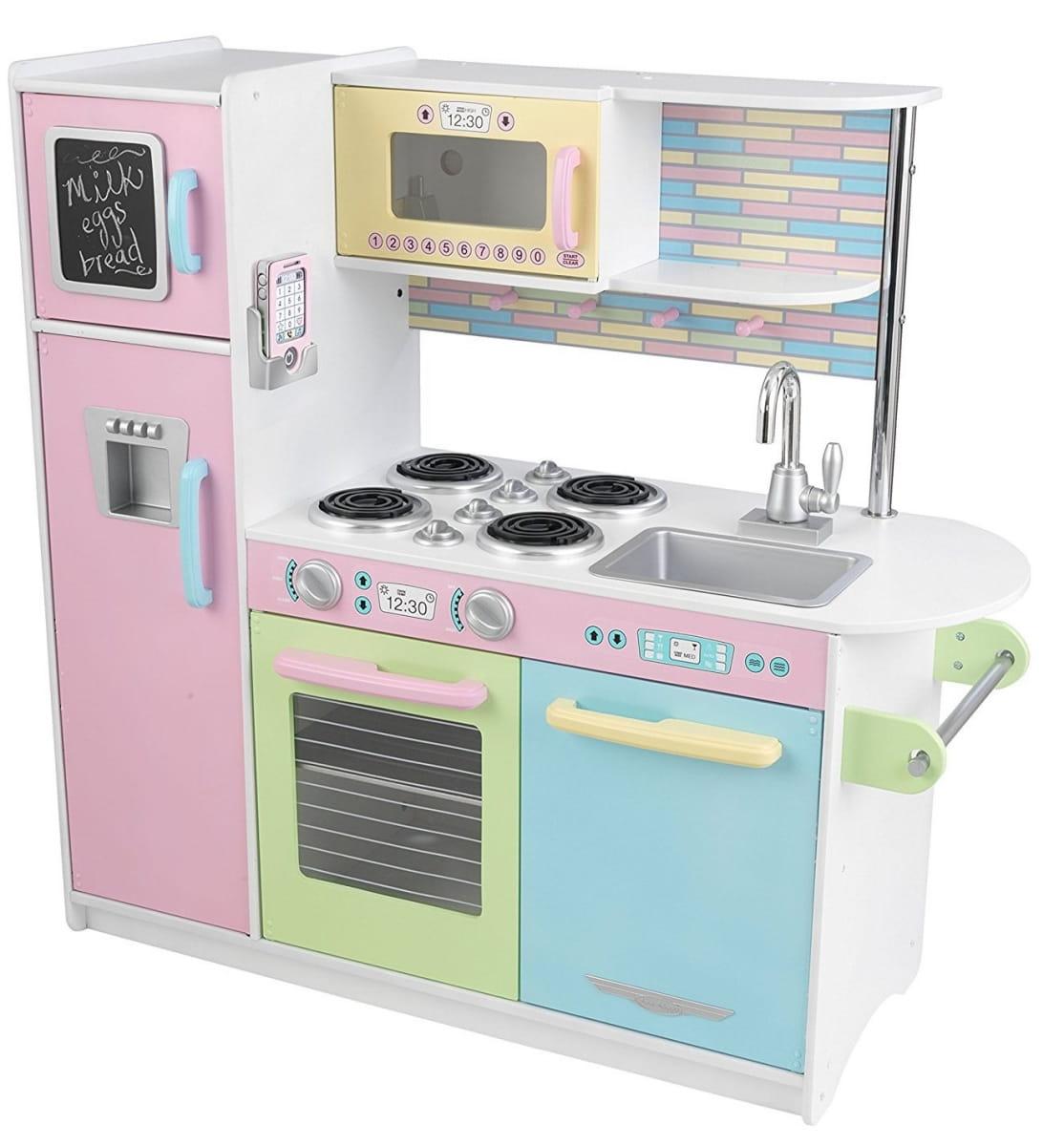 Детская кухня Kidkraft Пастель Pastel (Uptown Espresso Kitchen)